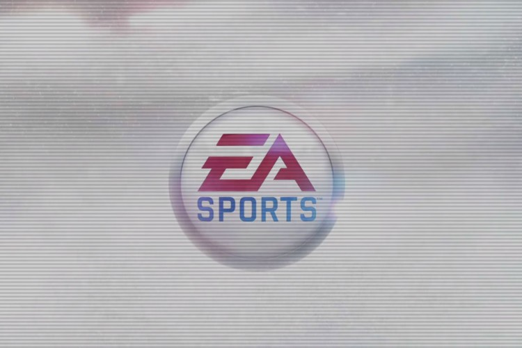 first frame of EA Sports homepage